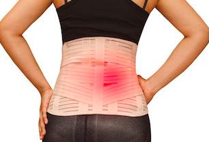 腰痛とコルセット