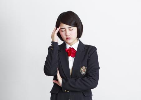 学生の頭痛の悩み