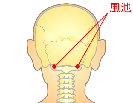 頭痛のつぼ